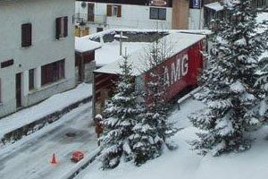 AMG Delivering in the Snow