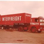 AMG Interfreight - old Scania on Farm