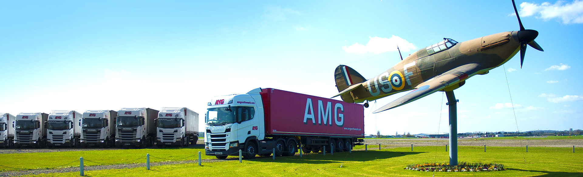 Artic Fleet at N.W. Airfield, Essex