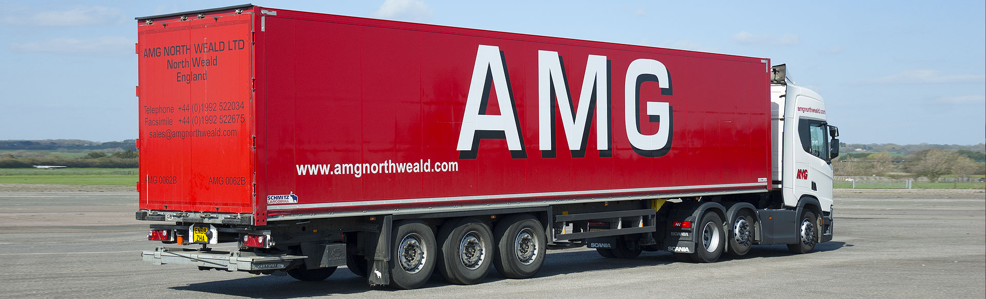 AMG Box Trailer at North Weald Airfield, Essex