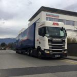 Delivering at Ritschard in Geneva